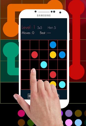 Connects Colors Puzzle