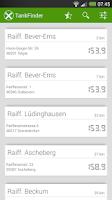 Screenshot of Tanken - Raiffeisen TankFinder