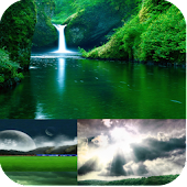 Green Scenery Live Wallpaper