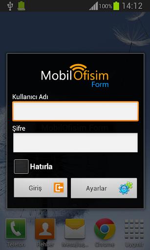 MobilOfisim Form
