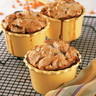 Tempeh and Eggplant Pot Pies.