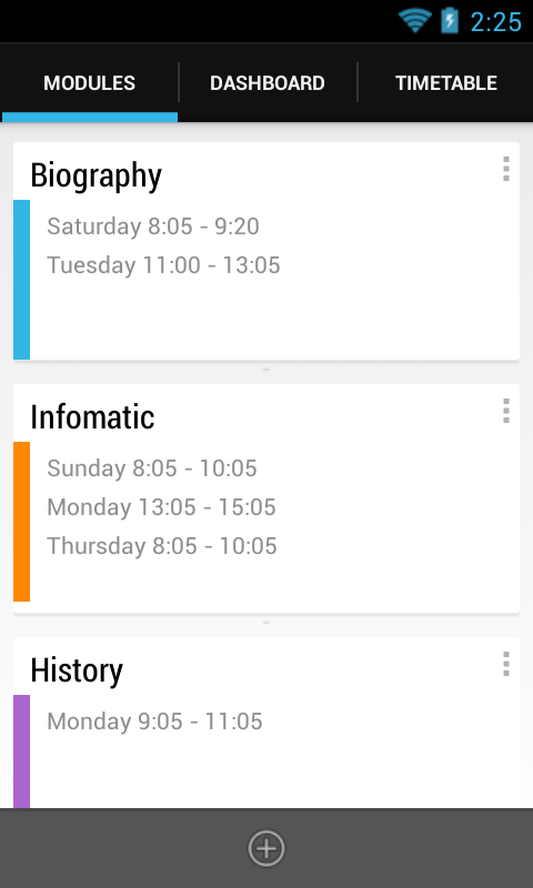 School Timetable- screenshot