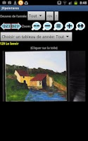 Screenshot of Paintings from Josette Laurent
