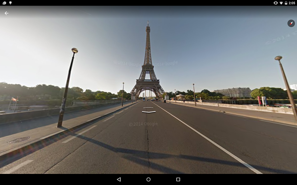 #11. Google Earth (Android)