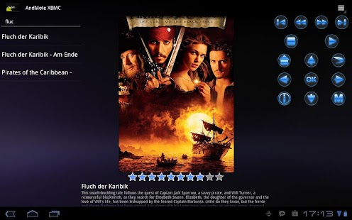 AndMote XBMC- screenshot thumbnail