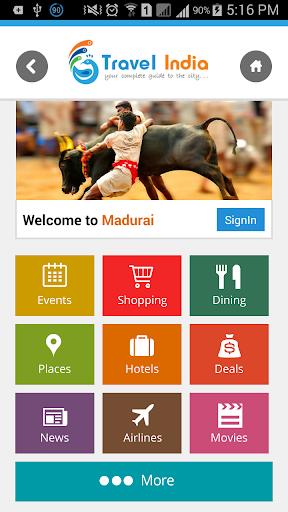Travel Madurai