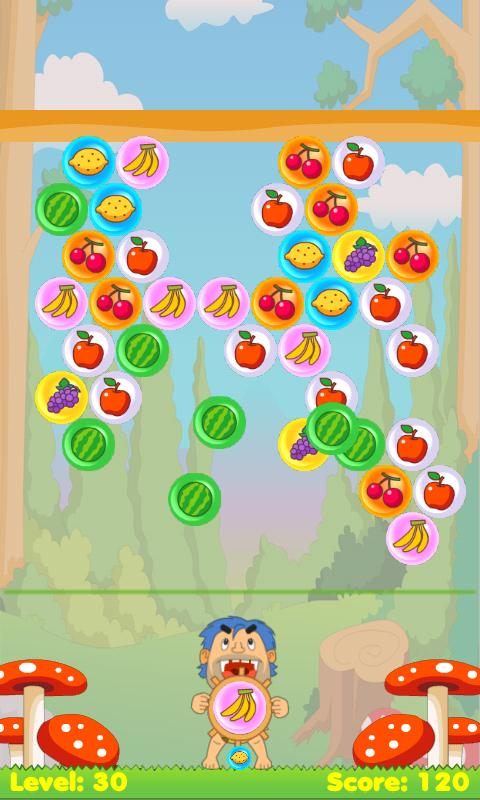 Fruit Bubble Shooter - screenshot
