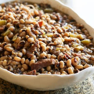 Black-Eyed Peas with Pork.