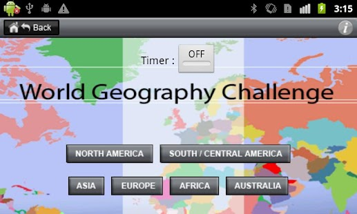 World Geography Challenge - screenshot thumbnail