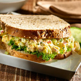 Smokin' Egg Salad Sandwiches.