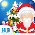 Santa Floating Gifts HD logo