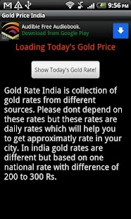Live Gold Price India- screenshot thumbnail