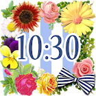 Cute Clock Widget 【FREE】 icon