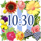 Cute Clock Widget 【FREE】