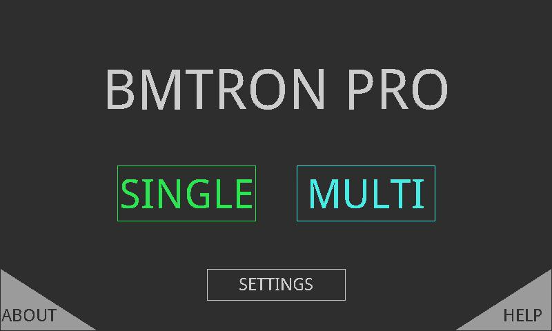 BMTron Pro- screenshot