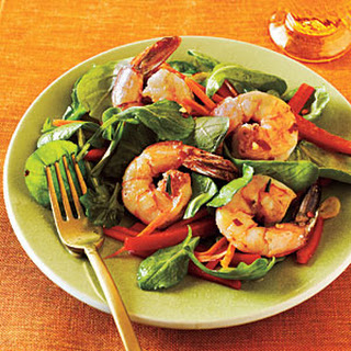 Shrimp and Arugula Salad