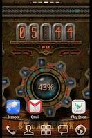Screenshot of Steampunk Time Live Wallpaper