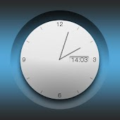 Big white analog clock uccw