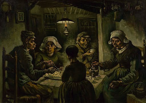 The potato eaters - Vincent van Gogh - Google Arts & Culture