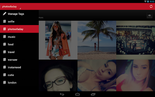 InstaTagger screenshot