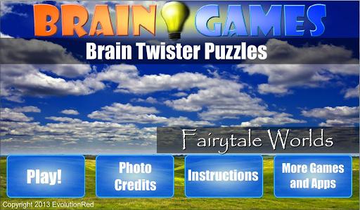 【免費解謎App】Fairytale Worlds: Brain Puzzle-APP點子