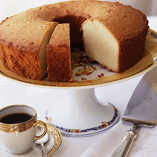 Yellow Vanilla Pound Cake.