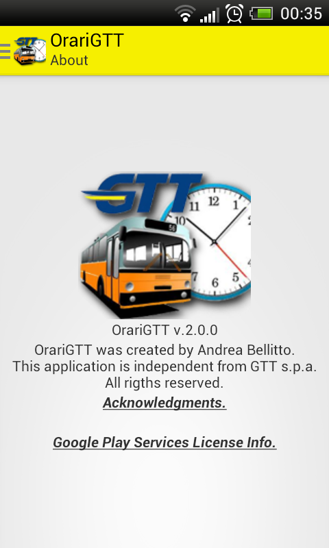 Orari GTT - Turin Transport - screenshot