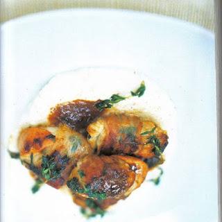 Coquilles in Pancetta Gewikkeld en Met Romige Knolselde Recipe