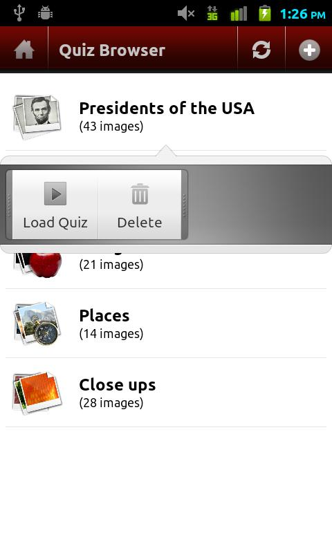 ImageQuiz - screenshot