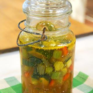 Fennel Stem Pickles