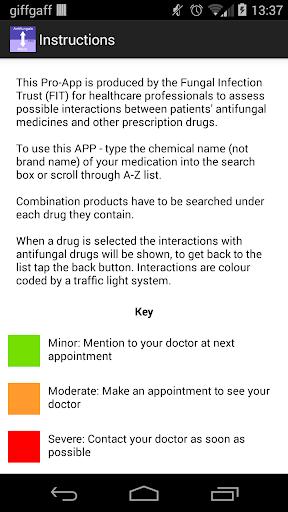玩免費醫療APP|下載Antifungal Interactions Pro app不用錢|硬是要APP
