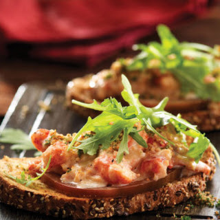 Open-Faced Lobster Thermidor Sandwiches