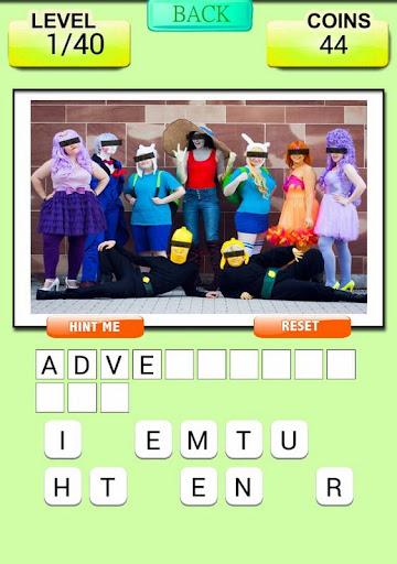 Cartoon Quiz - Guess Cosplay