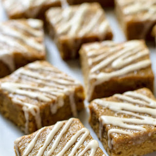Maple Brown Sugar Bourbon Bars.
