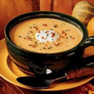 Creamy Pumpkin Soup.