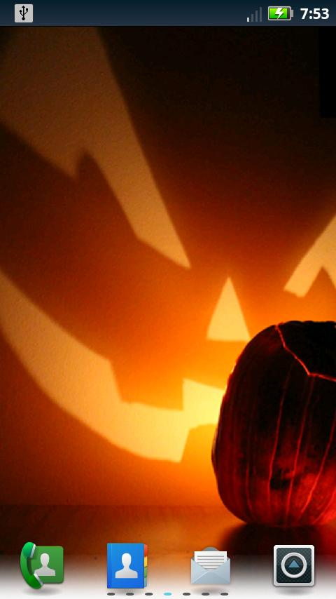Jack-O-Lanterns Live Wallpaper- screenshot