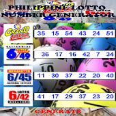 Phil. Lotto Number Generator