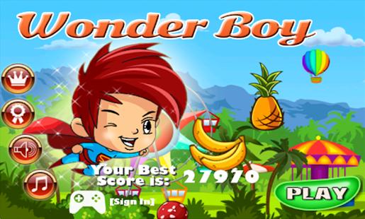 wonder boy pc: