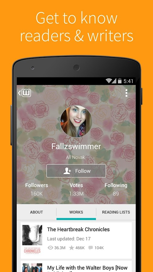 Wattpad - Free Books & Stories - screenshot