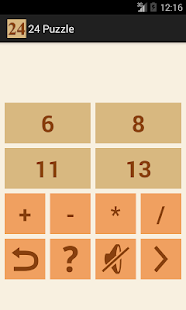24 Number puzzle game - screenshot thumbnail