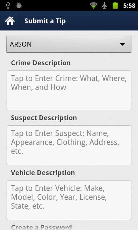 Victoria Police Mobile- screenshot