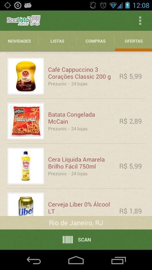 BoaLista - Lista de Compras - screenshot