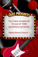 Screenshot of FreePlay Music Quiz