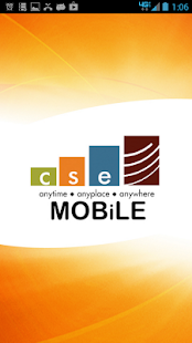 CSE MOBiLE - screenshot thumbnail