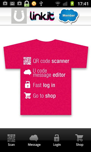 Ulink.it QR code scanner