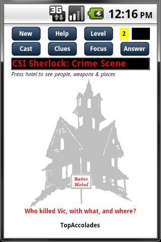 CSI Sherlock Trial