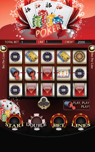 Poker Slot Machines HD Screen Capture 1