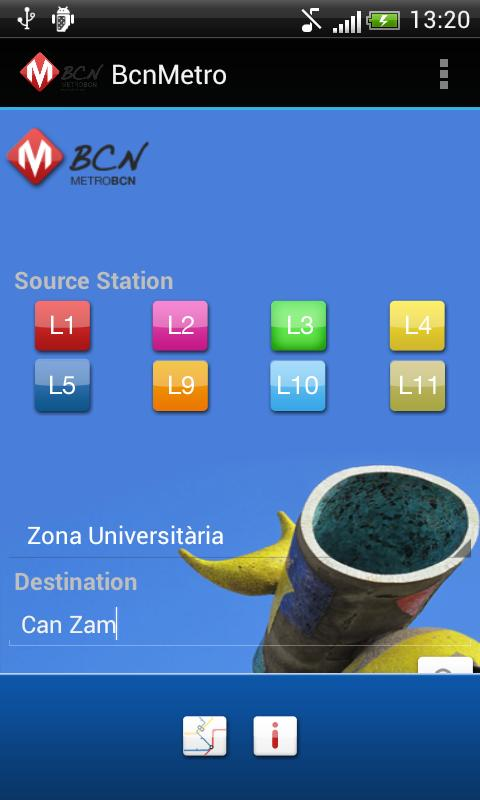 BCN Metro - screenshot