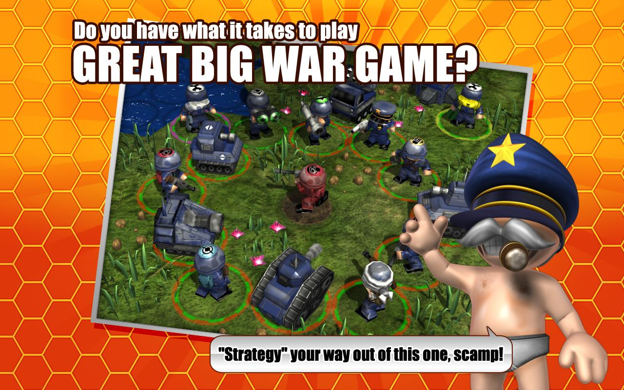 Great Big War Game Lite - screenshot