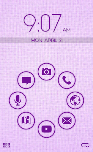 Stamped Purple Pack SL Theme